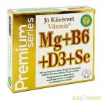 Jó közérzet premium mg+b6+d3+se kapszula 30 db