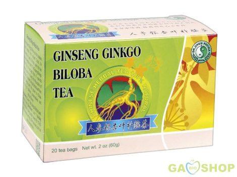 Dr.chen ginseng ginkgo és zöldtea filt.