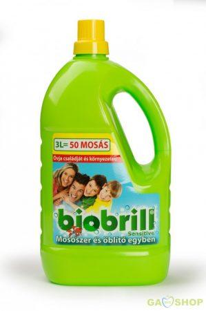 Biobrill mosószer és öblítő egyben