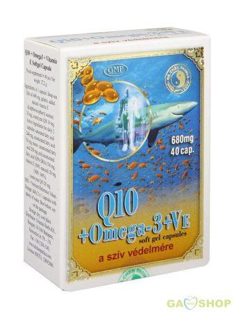Dr.chen q10+omega-3 halolaj kapszula