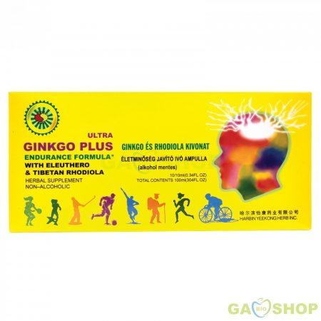 Sun moon ginkgo plus-rhodiola ivóampulla