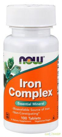 Now iron complex tabletta