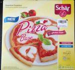Schär gluténmentes pizzalap