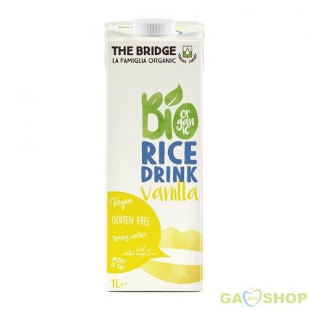 The bridge bio rizsital vanília 1000 ml