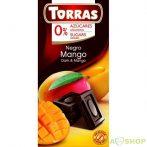 Torras étcsokoládé mangós