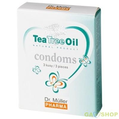 Tea tree oil teafa óvszer 3 db