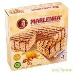 Marlenka mézes torta diós