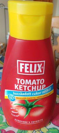 Felix kechup cukor nélkül